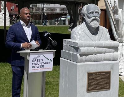 05192021 Freeman sculpture dedicated