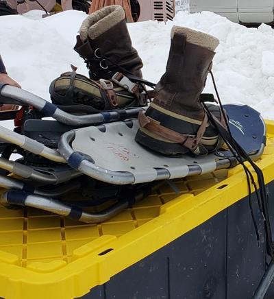 02202021 Bramblings Snowshoes