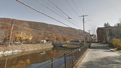 Depot Street bridge, Bellows Falls