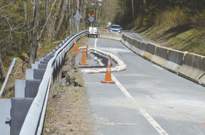 Route 12A washout