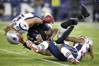 APTOPIX Patriots Ravens Football