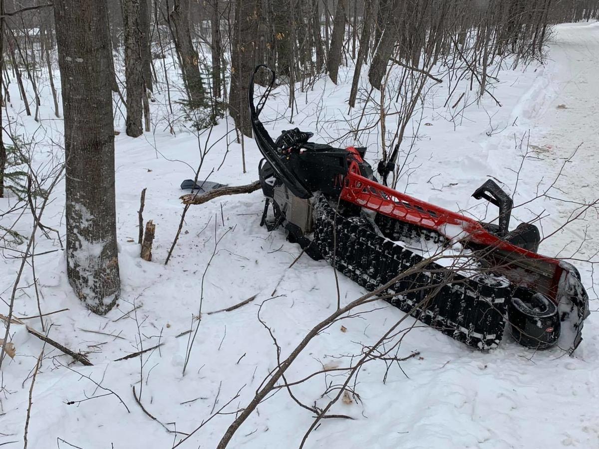 02172021 Gorham Snowmobile Crash