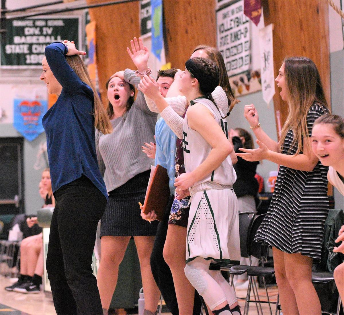 Photo: Eagle- Sunapee girls last second win 38-36