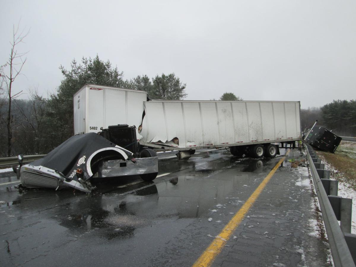 I-91 Crash Tractor-Trailer