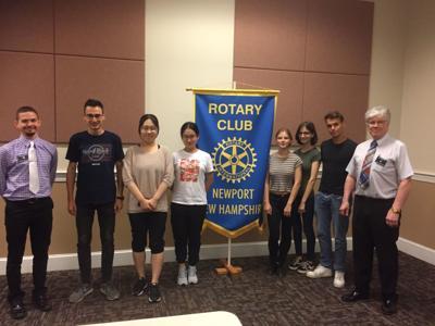 Rotary club hosts international volunteers