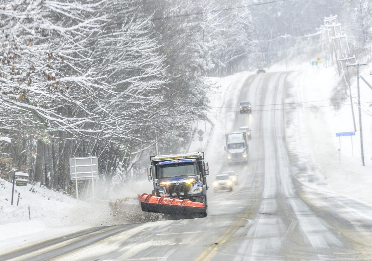 Wintry Weather Plow NH
