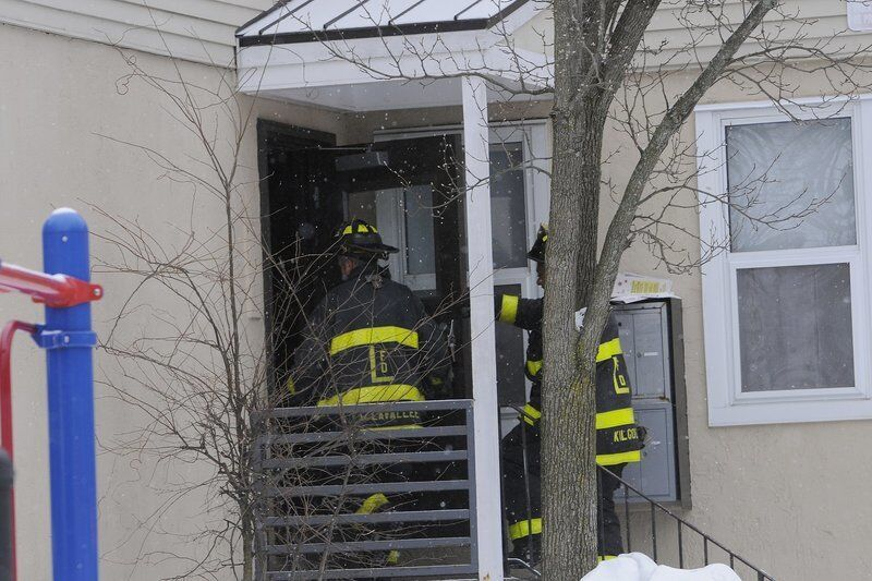 UPDATE: No one hurt in fire at Lawrence Housing Authority apartment