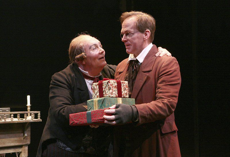 A softer side of Scrooge; 'Christmas Carol' brings its message back to North Shore Music Theatre