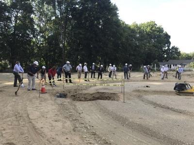 Plaistow breaks ground on pipeline project