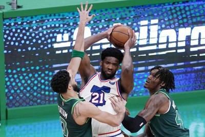Celtics can't handle Embiid, 76ers