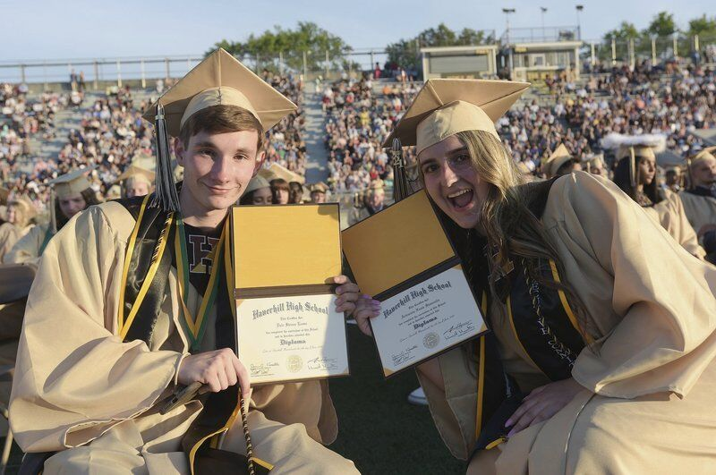 Haverhill High honors class of 2021