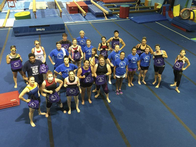 Foreign gymnasts flock to local woman's camp