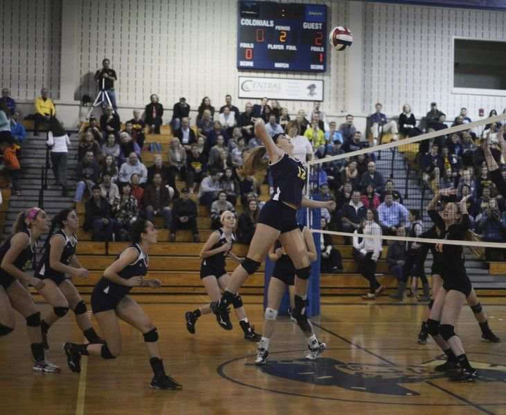 Volleyball: Andover dominates Newton North in state semis ...