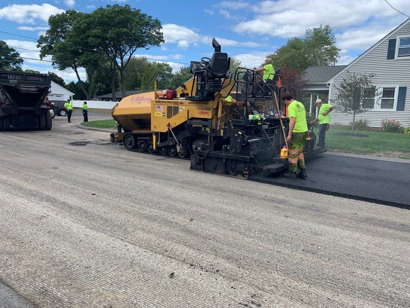 Paving proceeding despite old pipes debacle