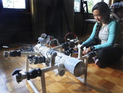 At age 12, Anna Du is an award-winning engineer