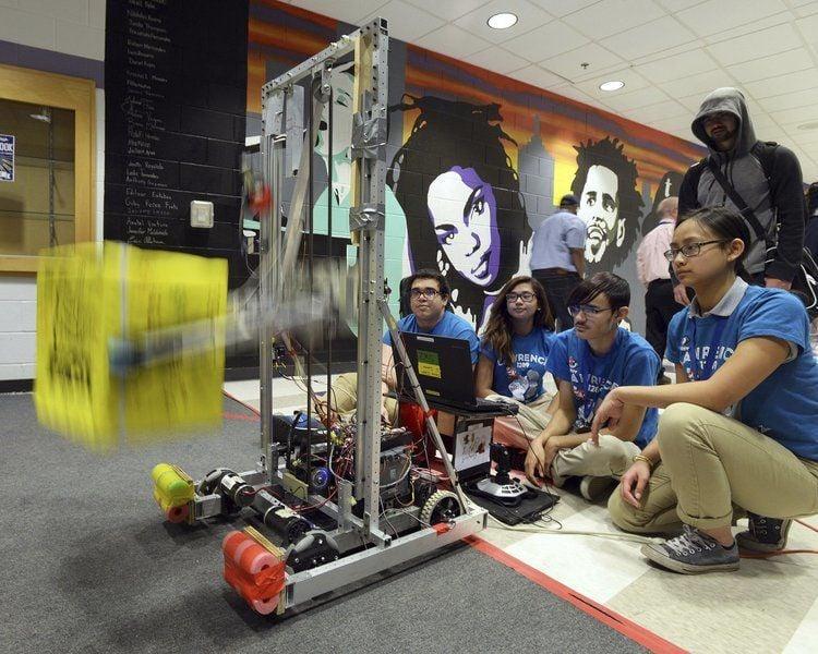 Lawrence High robotics team wins regionalcompetition