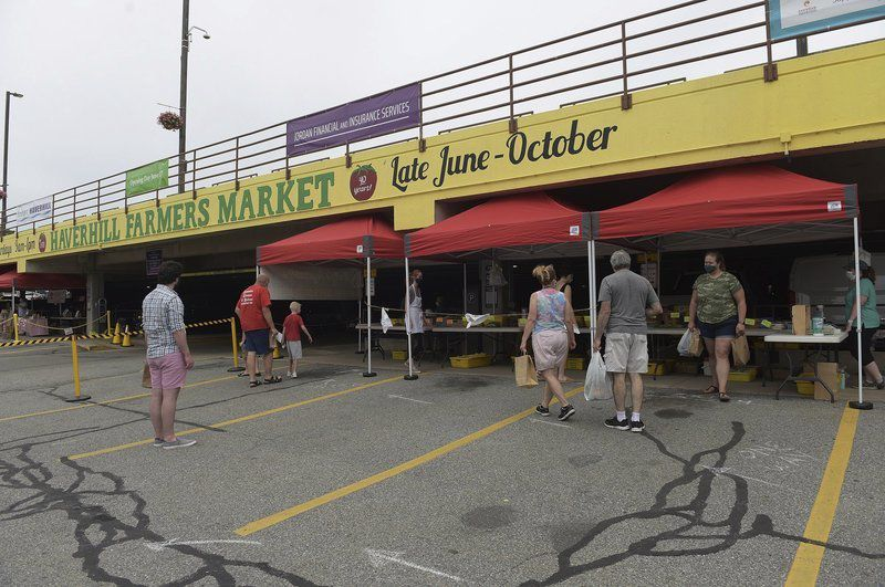 Haverhill Farmers Market opens -- with COVID restrictions