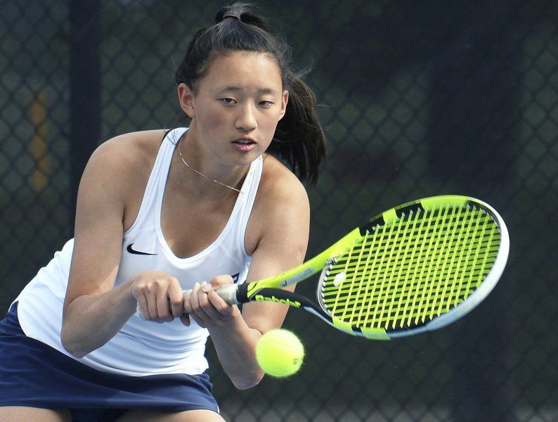 Andover cleans up in MVC tennis honors