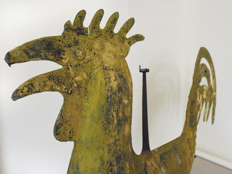 Rare folk art: Historic weathervane receives museum berth
