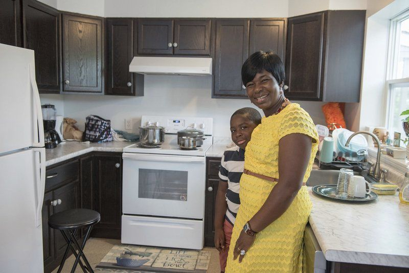 Family makes Lawrence house their home