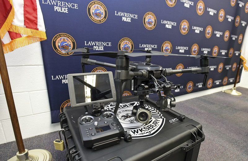 Lawrence policeplandrone purchase
