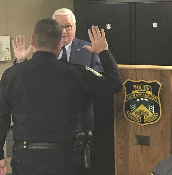 Rising in the ranks: Salem police promote Dolan to deputy chief