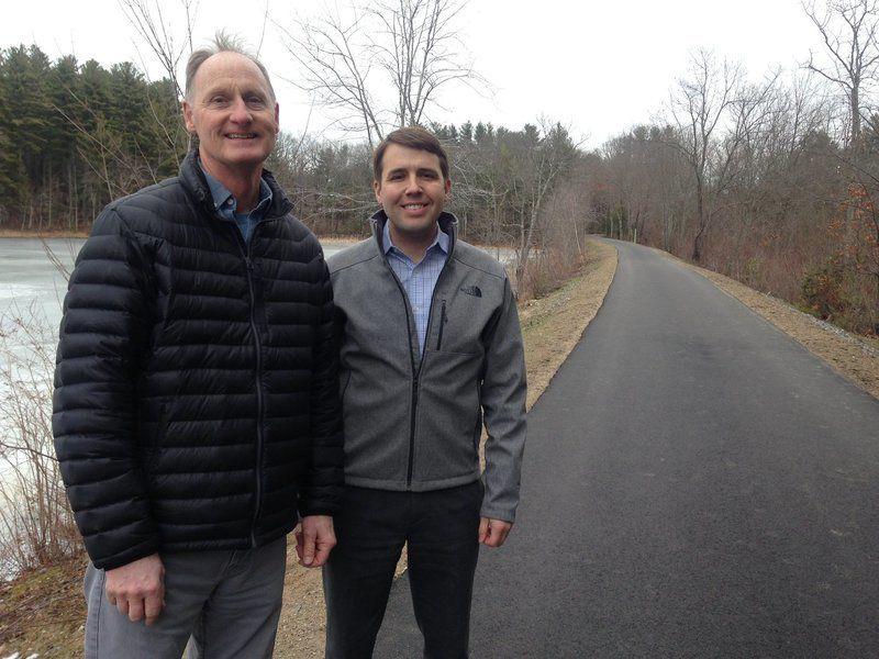 Congressman tours latest rail trail section