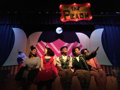 CHECK THIS OUT A 'Giant Peach' of a musical at Lawrence High