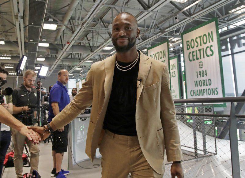 Celtic newcomers Walker, Kanter joke about Irving