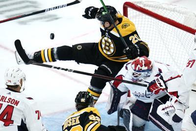 Bruins Curtis Lazar vs. Washington preseason