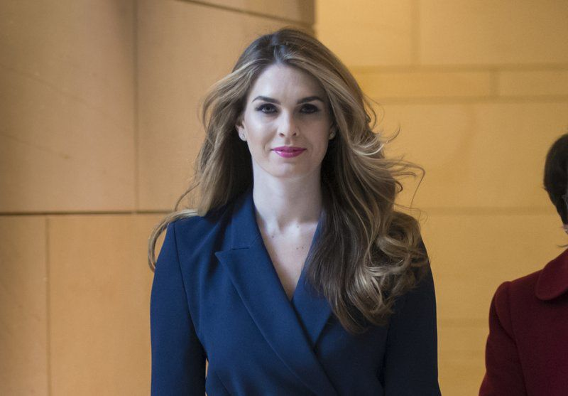 Trump, White House face void with Hope Hicks leaving communication director  post