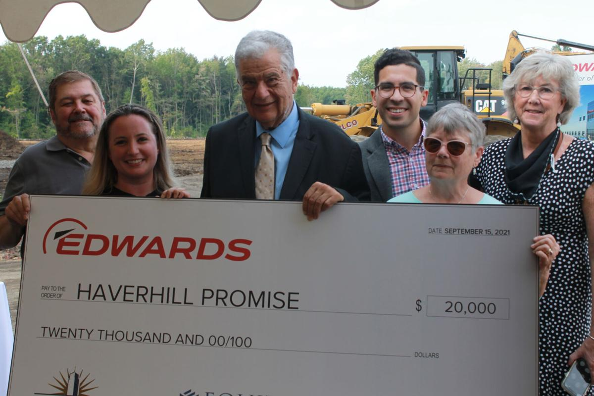 Haverhill Promise receives $20,000 from Edwards Vacuum