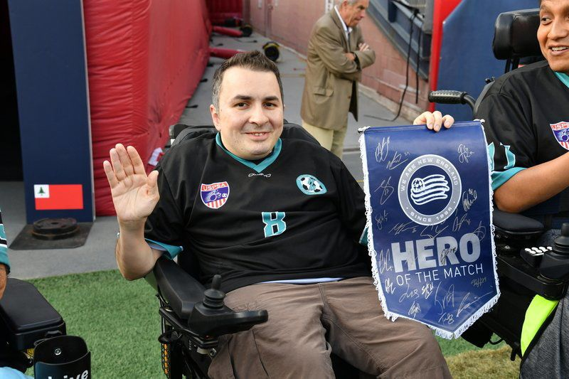 Sports in a minute: Local 'hero' honored by Revs