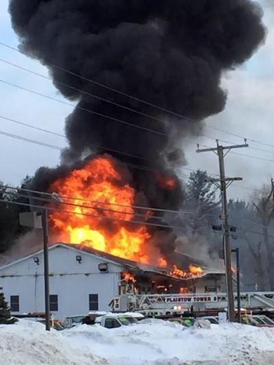 Flames consume Plaistow business