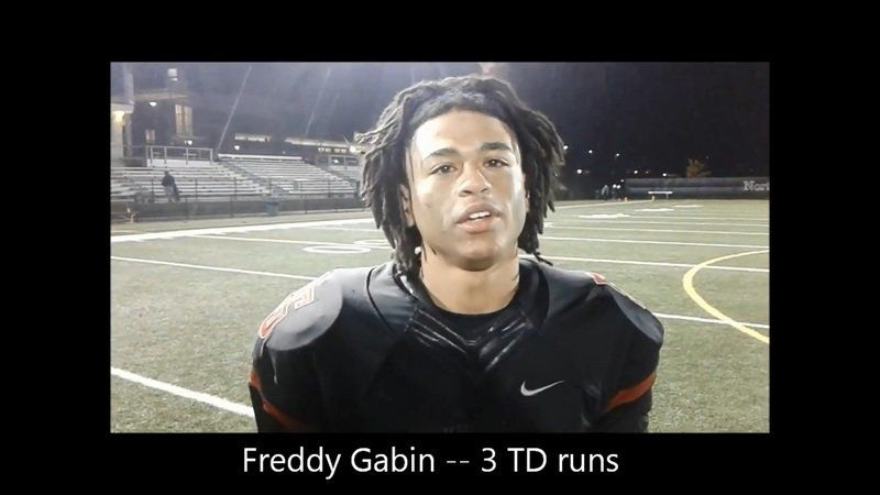 Fab Freddy: Dynamic Gabin at the core of North Andover's return to North title game