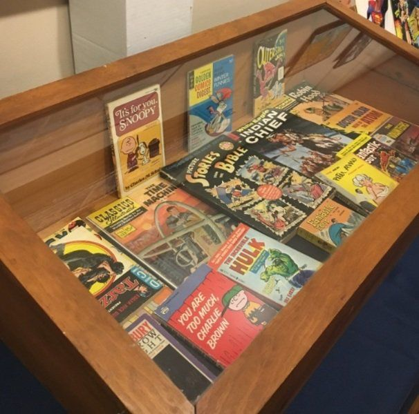 Comic rarities on display at Buttonwoods Museum