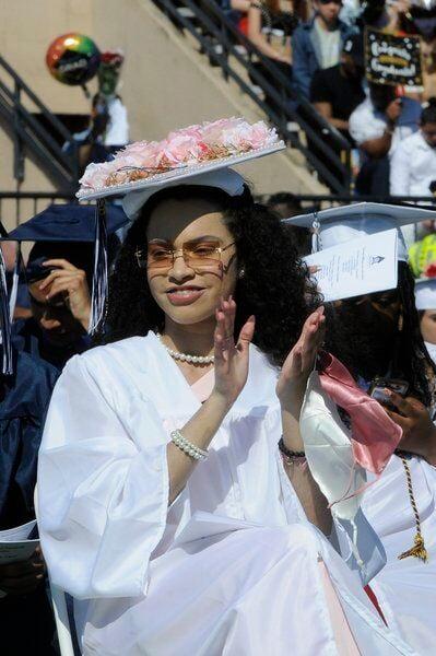 Lawrence High graduates 725