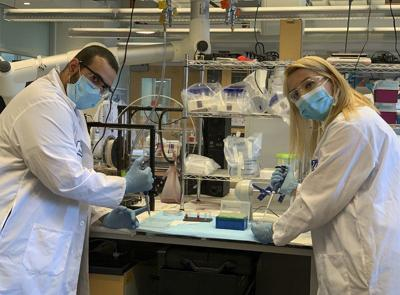 HOMETOWN HERO: Student helps invent rapid COVID-19 test