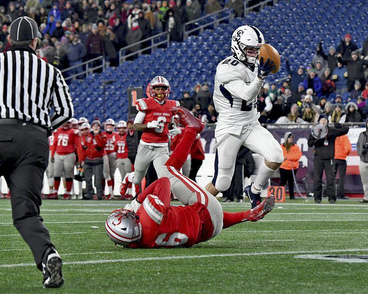 Haverhill's Duchemin helps Prep KO Catholic Memorial and win second straight Super Bowl