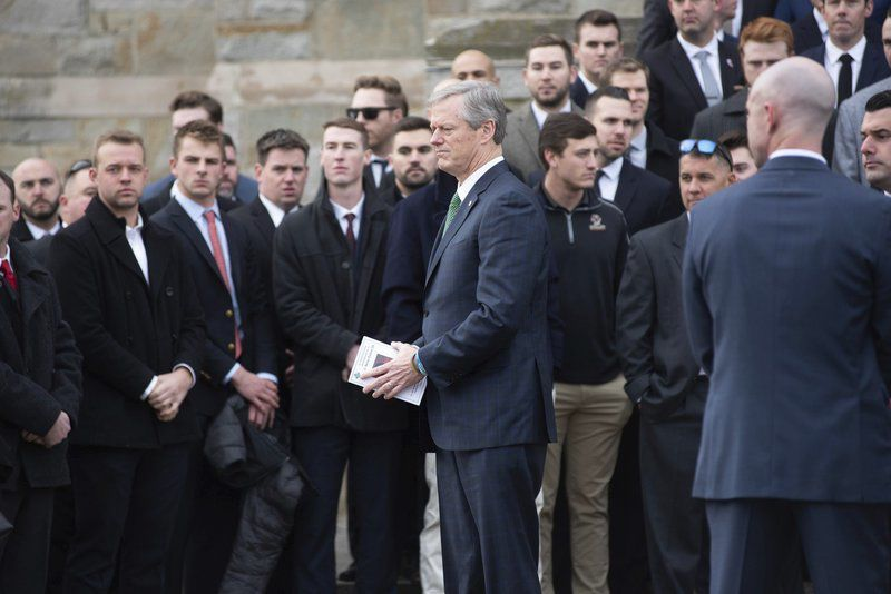 Frates remembered in 'magnificent' service