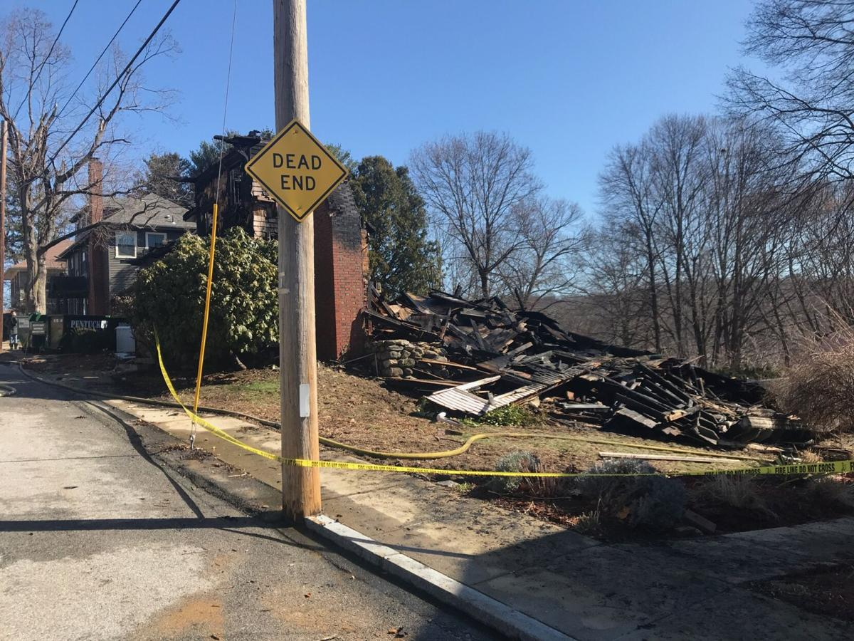 Fire at 3 Maplewood Terrace