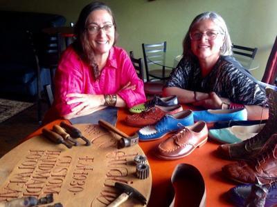 Sole mates: Leather artists celebrate talent, friendship