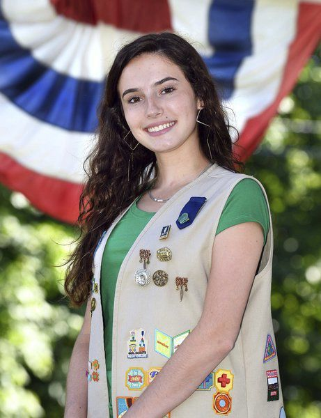 Atkinson Girl Scout goes for gold