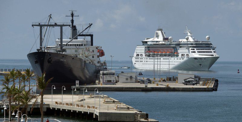St Cruise Ship Since Irma Docks In Key West News Eagletribunecom - Cruise ship gas mileage