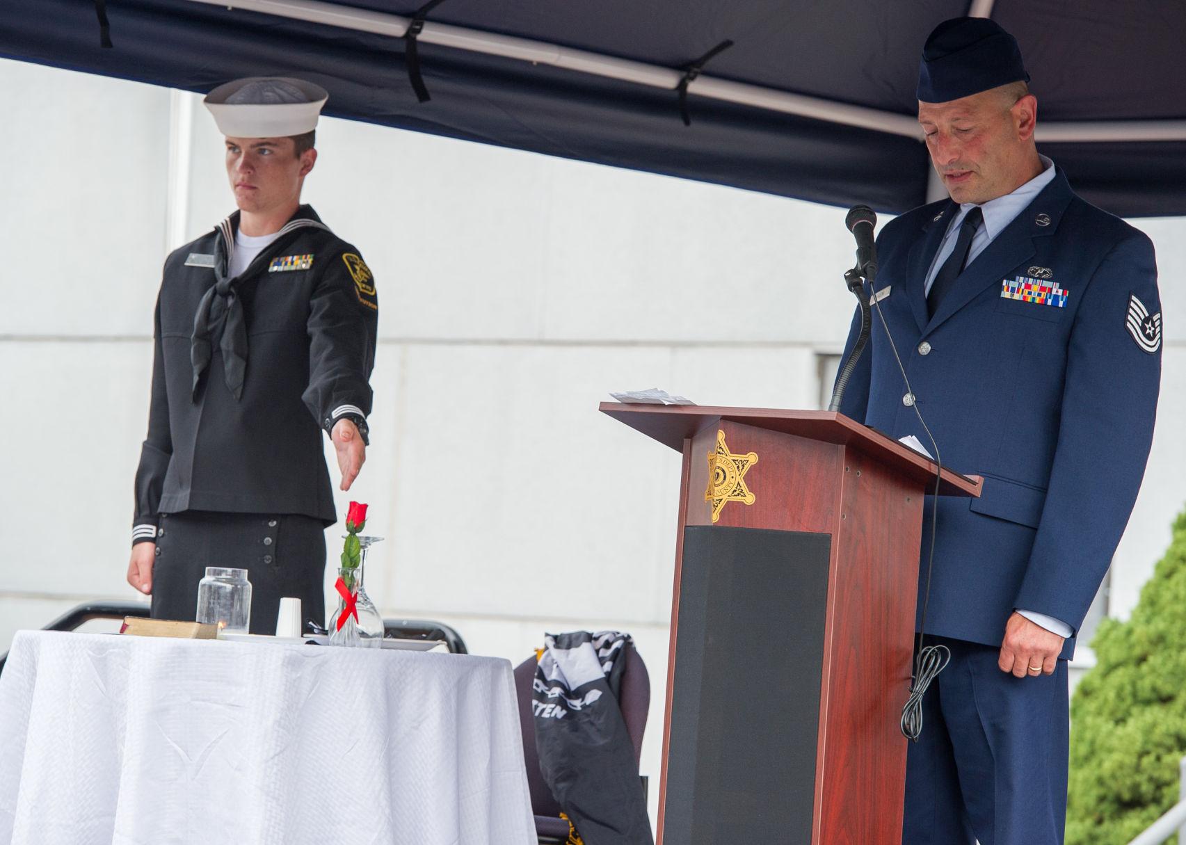 SLIDESHOW Essex County Sherriff hosts POWMIA Ceremony