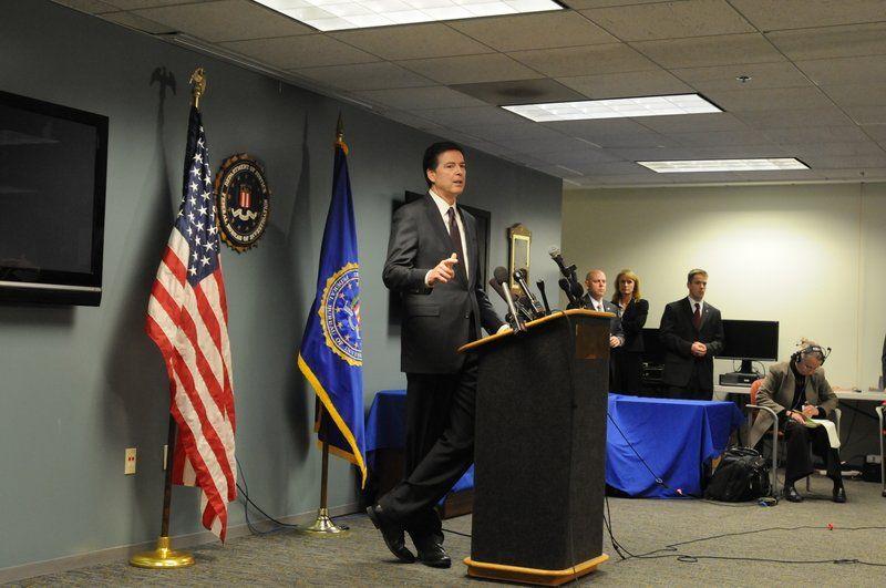 Local heroin epidemic focus of national FBI director's visit