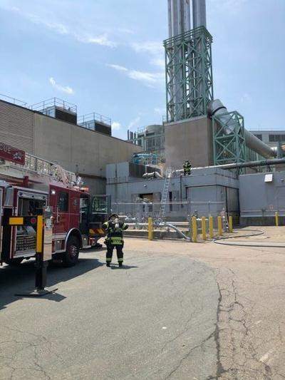 Fire at Pfizer doesn't harm production