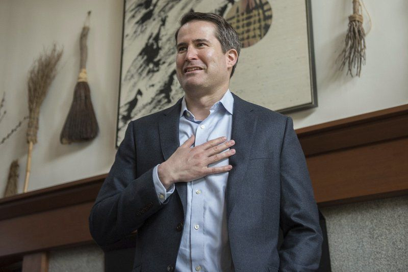 Moulton, in New Hampshire, focuses on foreign policy