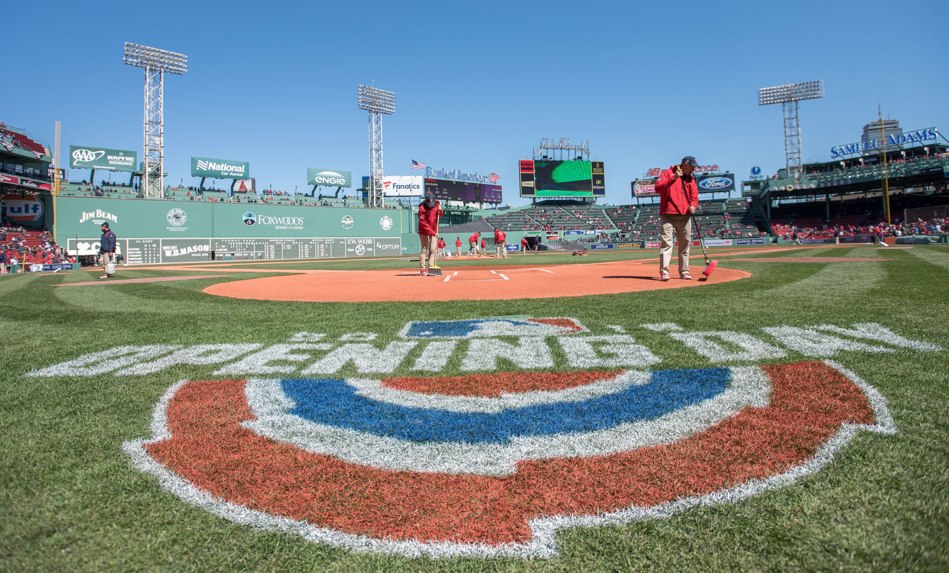 opening day at fenway is mellor time merrimack valley rh eagletribune com