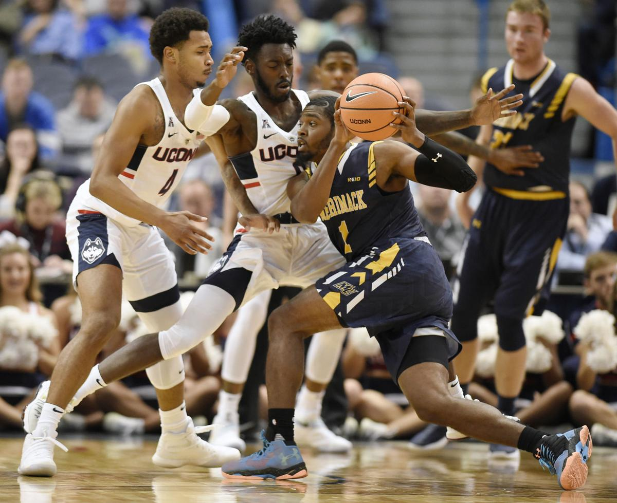 The big stage dartmouth connection helps merrimack basketball merrimack basketball at uconn sciox Images